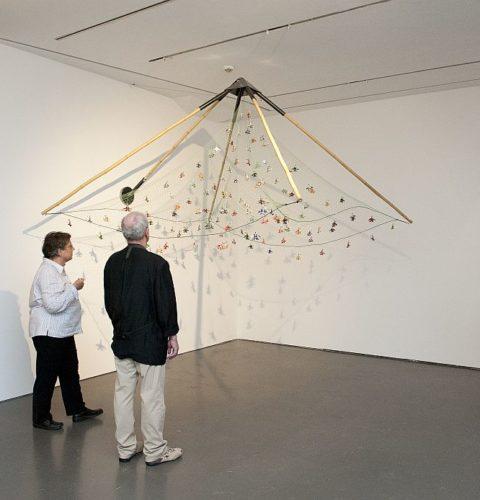 Vue d'exposition Les espaces de mémoires, 2012