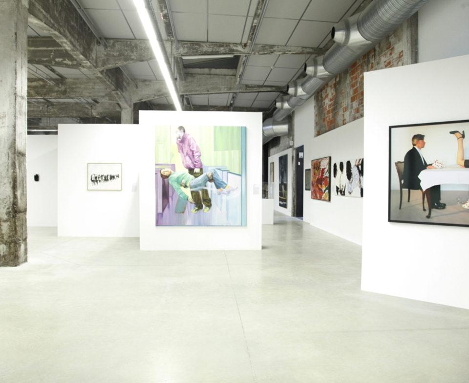 Vue de l'exposition De leur temps (4) - Regards croisés sur la jeune création