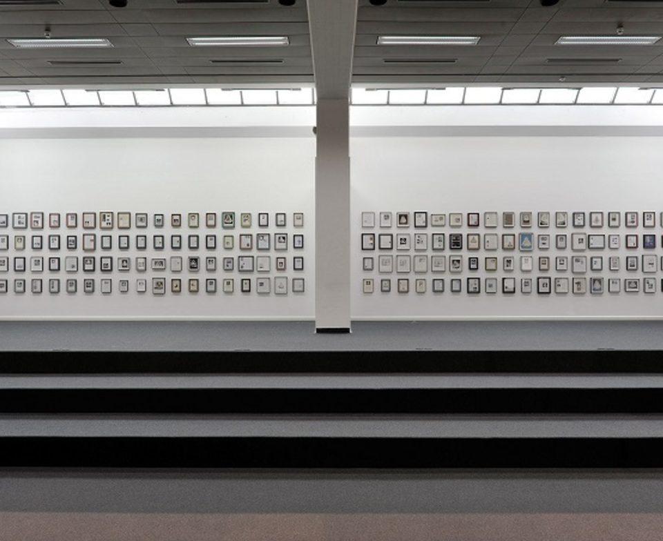 Vue d'exposition Toutes Directions au musée de Wilhelm-Hack à Ludwigshafen (Allemagne).