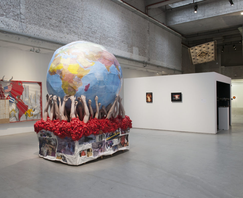 Vue d'exposition Invitation au voyage - Centrale for contemporary art, Bruxelles (2015)