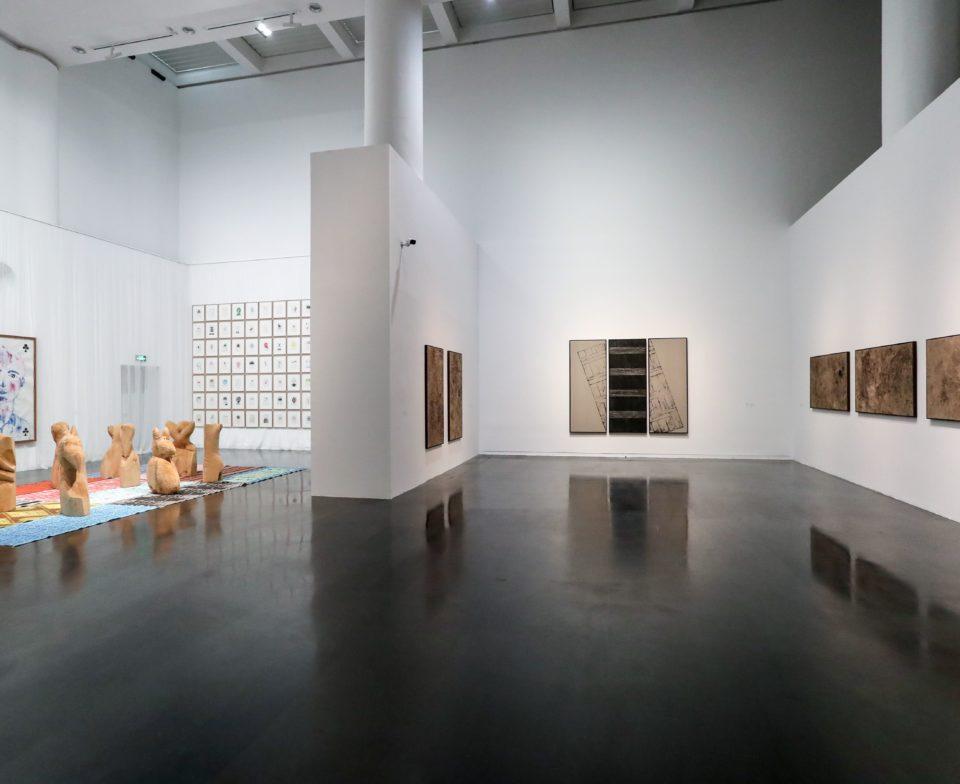 Vue d'exposition Prix Marcel Duchamp - Tsinghua university museum, Chine