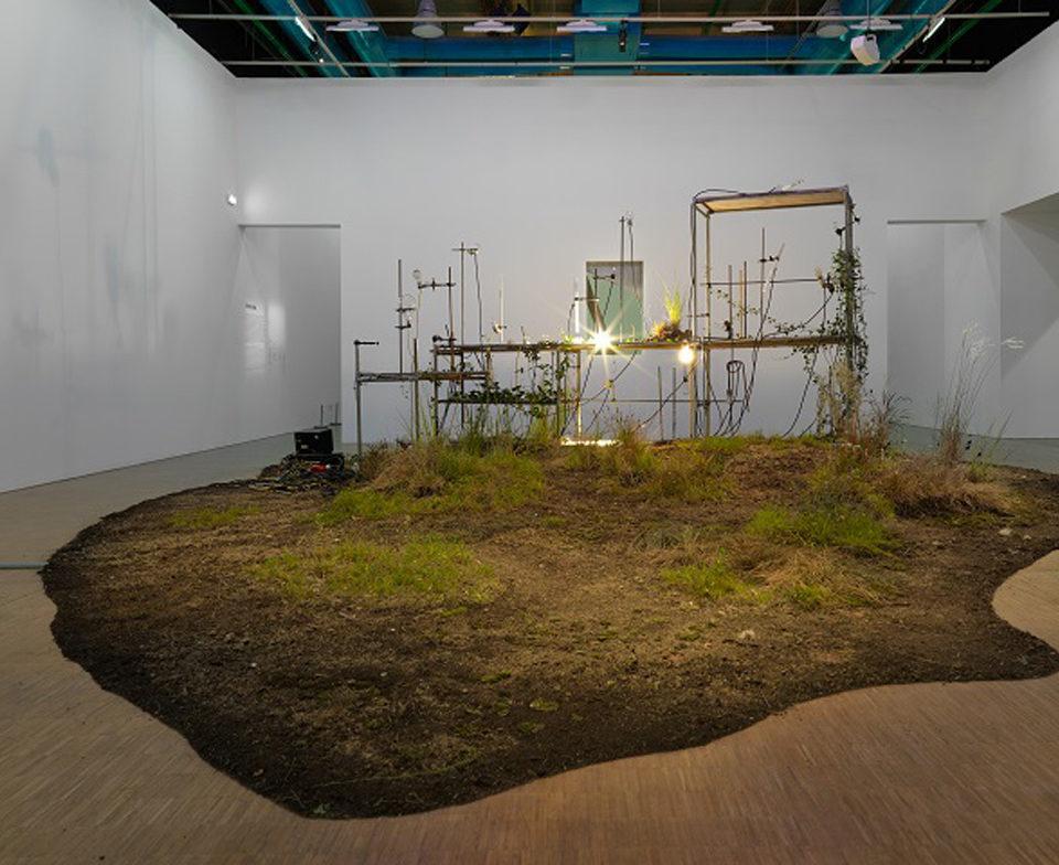 Vue de l'exposition prix Marcel Duchamp 2017 au Centre Pompidou