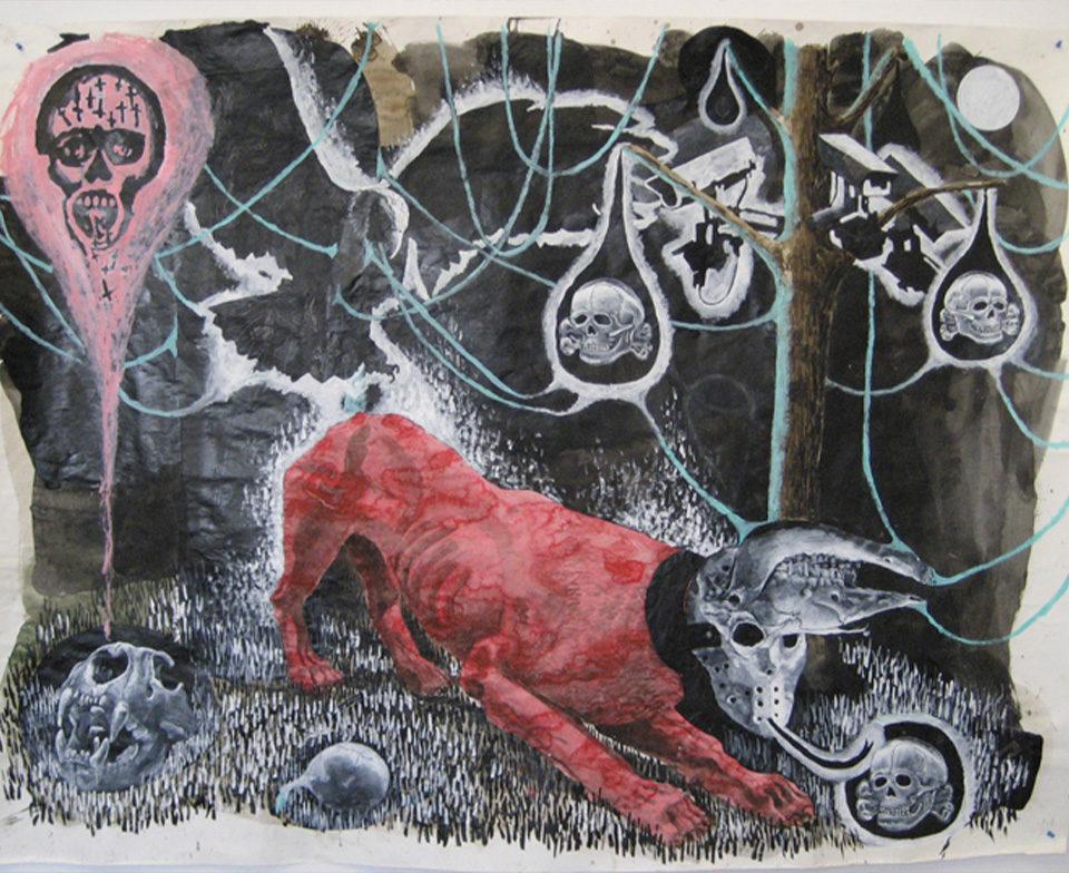 Sans Titre (Lion Rouge), 2008