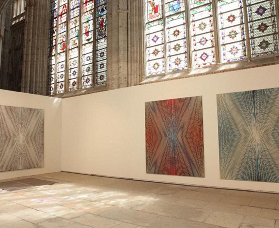 Vue de l'exposition, prix Marcel Duchamp à Rouen