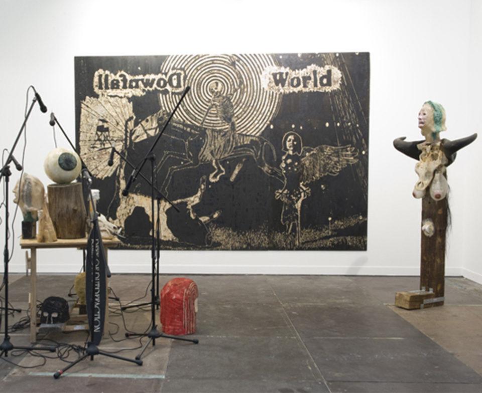 Vue de l'exposition Prix Marcel Duchamp, FIAC 2009