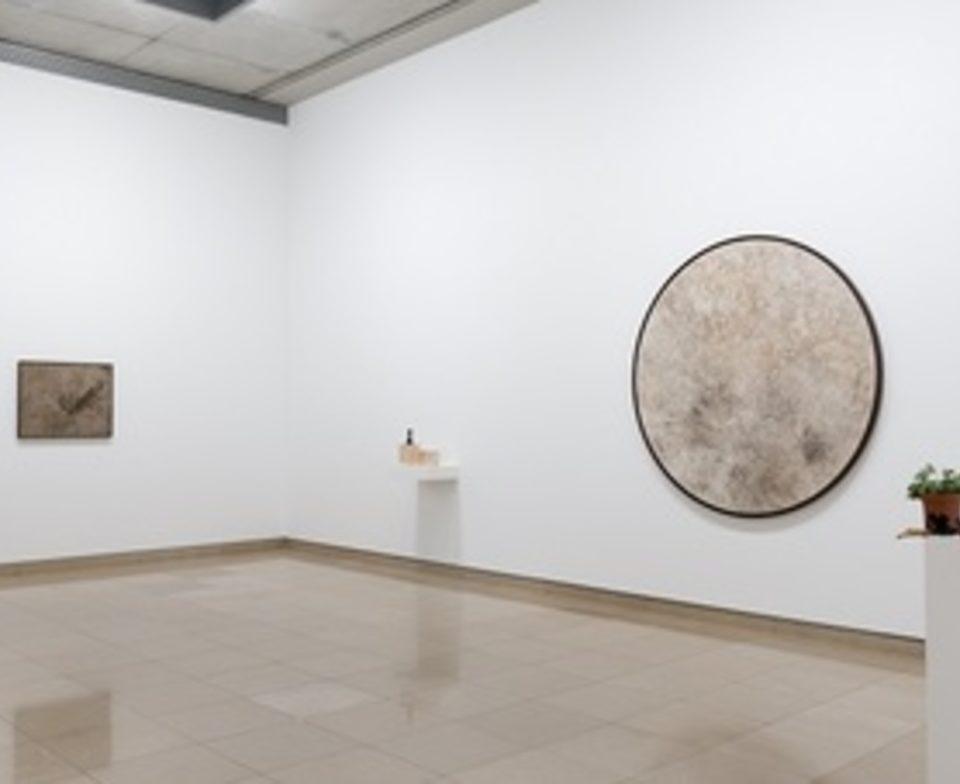 Vue de l'exposition prix Marcel Duchamp au Carré d'Art de Nîmes Courtesy: l'artiste, et la galerie frank elbaz