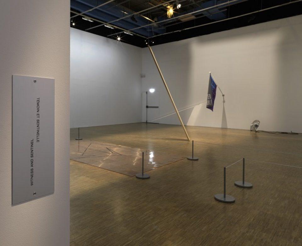 Vue de l'exposition prix Marcel Duchamp 2017 au Centre Pompidou Courtesy de l'artiste et Galerie Thomas Bernard - Cortex Athletico ©Centre Pompidou 2017 - Audrey Laurans
