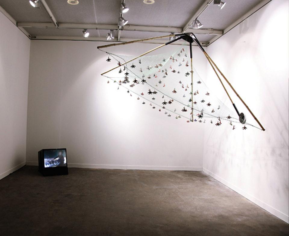 Vue de l'installation, Prix Marcel Duchamp, FIAC 2011