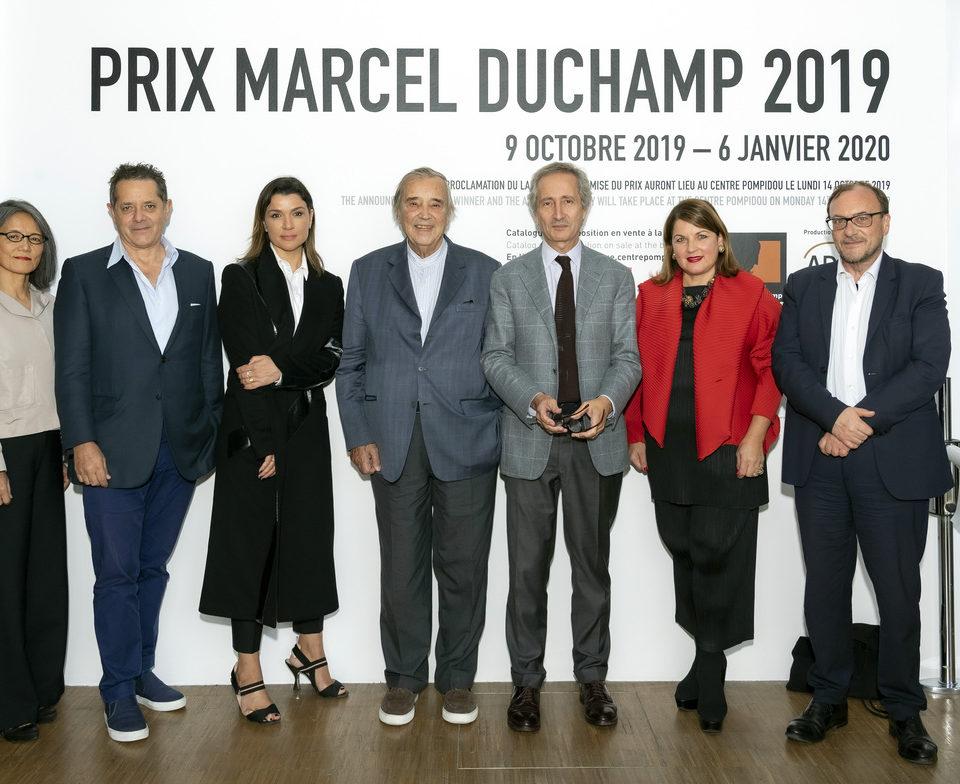 Jury Prix Marcel Duchamp 2019 - Crédit photo : Luc Castel