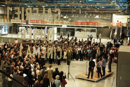Remise du Prix Marcel Duchamp au Centre Pompidou