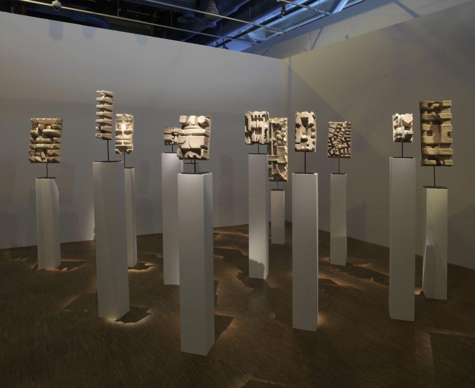 Kader Attia, lauréat 2016, vue de l'exposition Prix Marcel Duchamp 2016 ©Centre Pompidou, Georges Meguerditchian