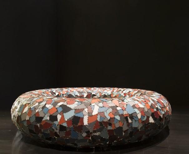 Vue de l'exposition du Prix Marcel Duchamp - Tsinghua University Museum