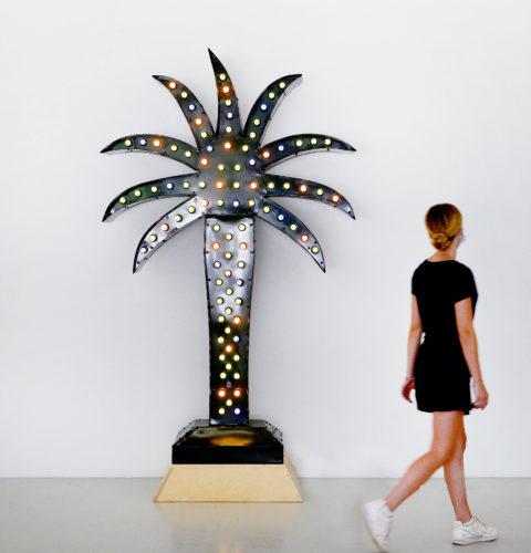 Yto BARRADA, Green Palm, 2016. Courtesy de l'artiste et Sfeir-Semler Gallery, Hambourg/Beyrouth © photo eac