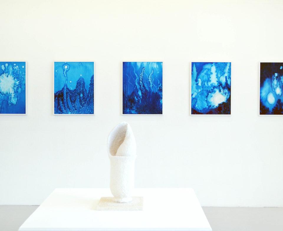 Michel BLAZY, E133-3, 2018, E133-8, 2018 Courtesy de l'artiste et de la Galerie Art : Concept, Paris © photo eac. © Adagp, Paris 2021