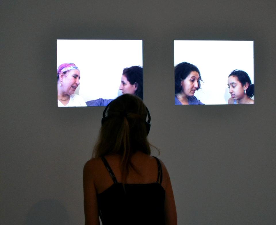 Zineb SEDIRA Mother Tongue, 2002. Centre Pompidou, Paris Musée national d'art moderne /Centre de création industrielle