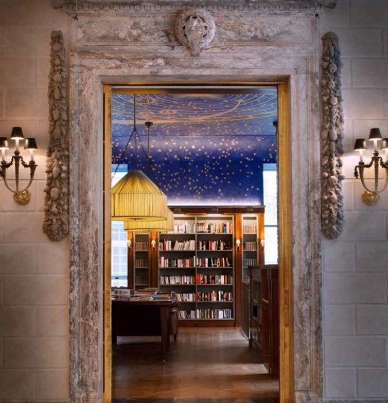 Siège de la Villa Albertine à New York, dans la Payne Whitney Mansion au 972 Fifth Avenue, où se trouve déjà la librairie Albertine